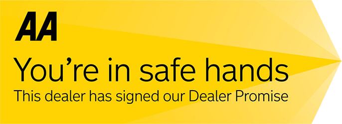 This dealer has signed up to the AA Dealer Promise